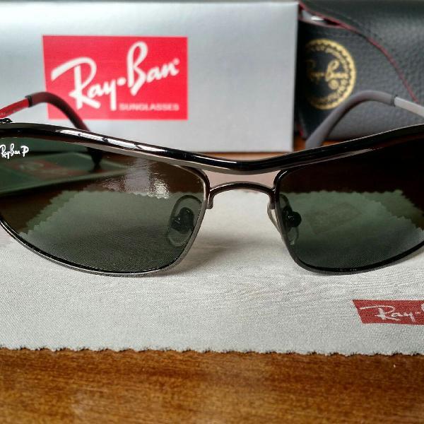Rayban demolidor lentes verdes polarizadas
