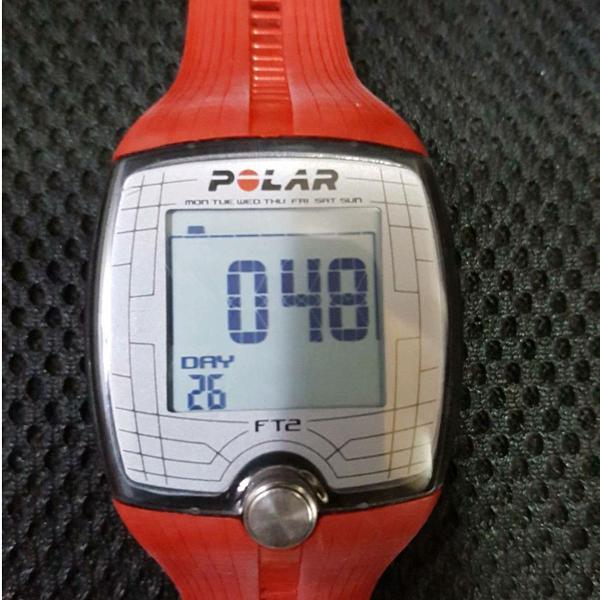 Relógio polar ft2