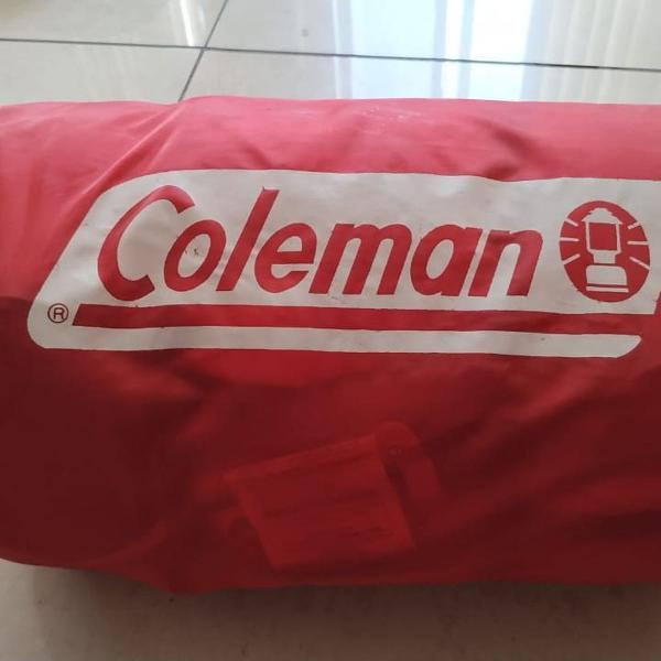 Saco de dormir coleman vermelho