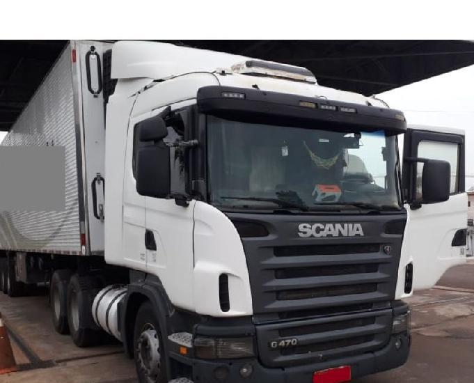 Scania g.420 e g.470 6x4 traçado