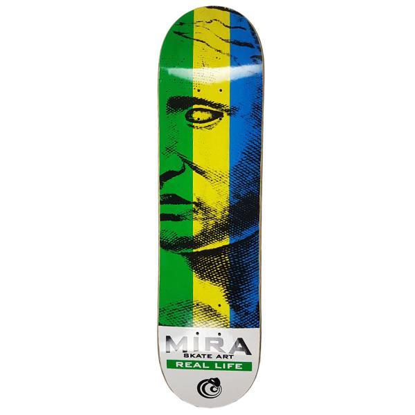 Shape mira skate art real life