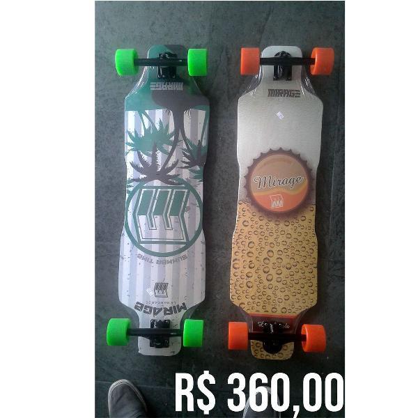 Skate longboard mirage