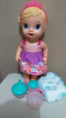 2 bonecas baby alive originais