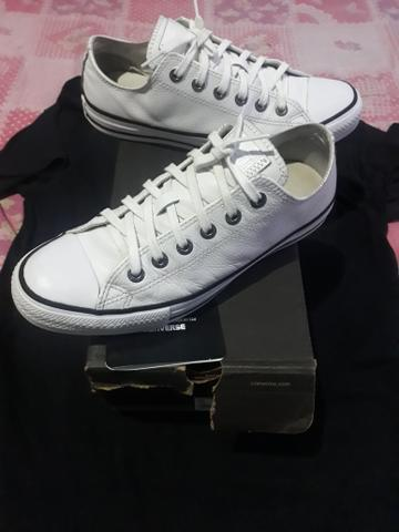 All star couro bco tam. 39 orig toppp