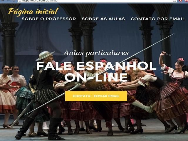Aulas particulares de espanhol online