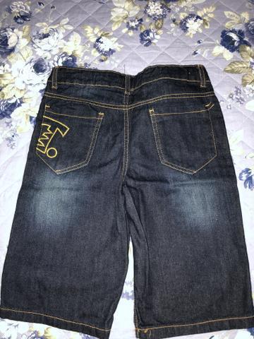 Bermuda tigor jeans zerada!!!!!