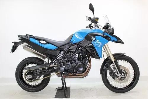 Bmw f 800 gs 2014 azul - único dono