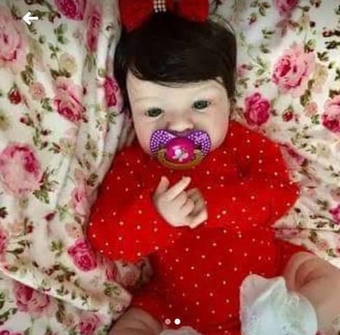 Boneca bebê reborn pronta entrega 200 a vista