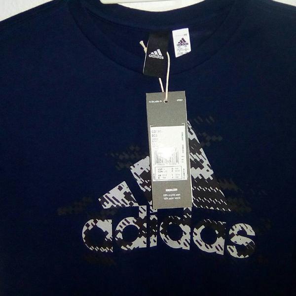 Camisa adidas original infantil. 8-12 anos. com logo adidas.