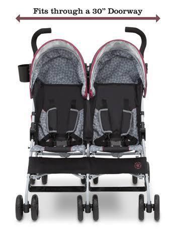 Carrinho bebê duplo jeep importado