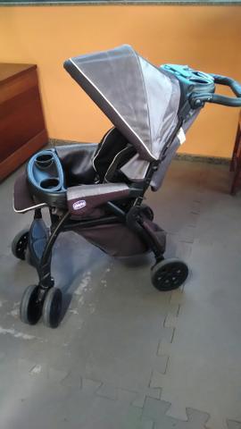 Carrinho com bebê conforto duo today anthracite - travel