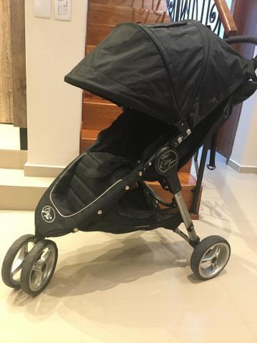 Carrinho de bebê baby jogger c/adaptador p/bebê conforto