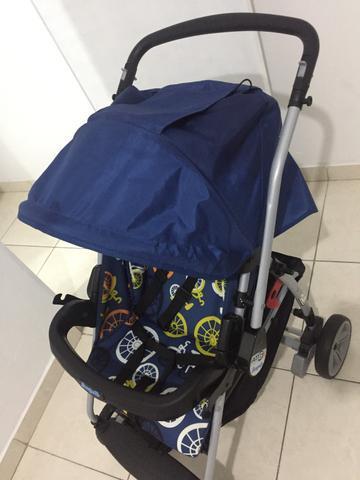 Carrinho de bebê com bebê conforto Burigotto AT6 K, para