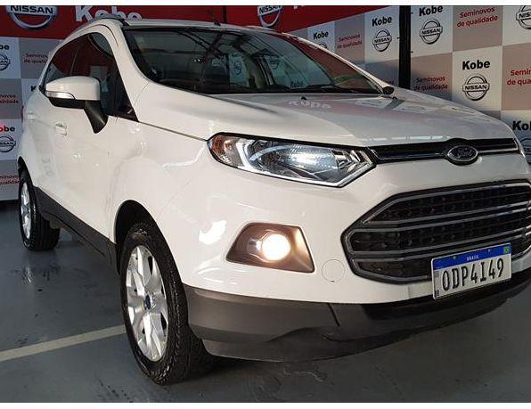 Ford ecosport titanium 1.6 16v flex 5p flex - gasolina e