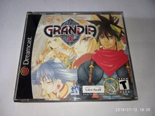 Grandia 2 dreamcast original americano