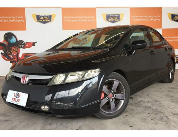 Honda civic sedan lxs 1.8/1.8 flex 16v aut. 4p gasolina