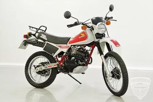 Honda xl 250r 1983 83 - original - antiga moto - restaurada