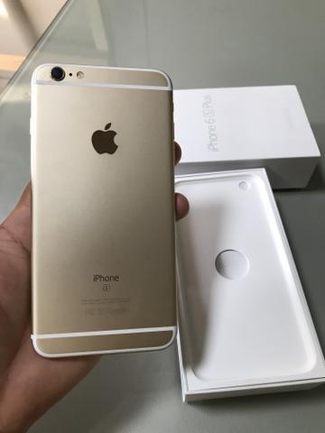 Iphone 6s plus gold / impecável / ótimo estado