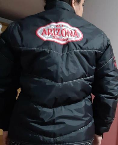 Jaqueta feminina arizona para moto