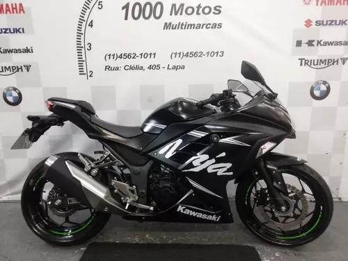 Kawasaki ninja 300 2018 novinha aceito moto
