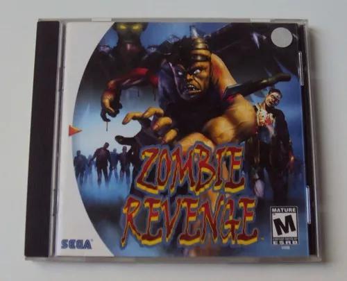 Manual original americano zombie revenge - dreamcast