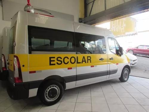 Renault master escolar à pronta entrega