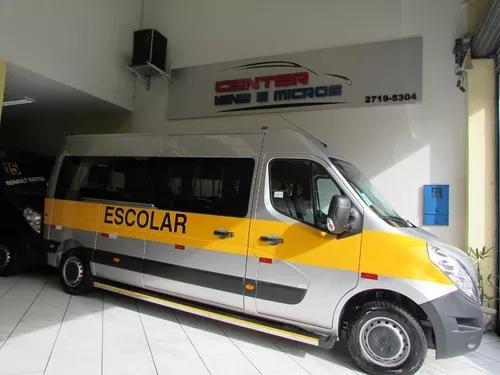 Renault master escolar pronta entrega