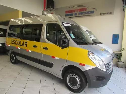 Renault master versão escolar pronta entrega