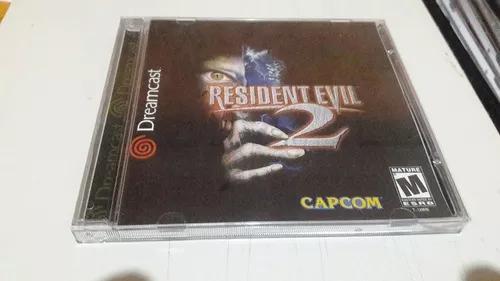Resident evil 3 jogos sega dreamcast cdr