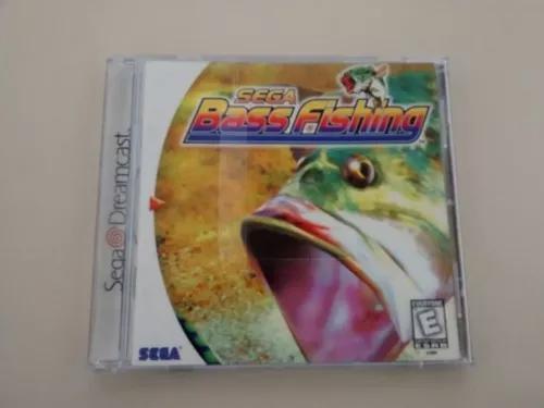 Sega bass fishing original completo dreamcast