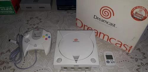 Sega dreamcast na caixa e seriado - hkt-3000 revisão 0
