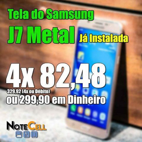 Tela samsung j7 metal - amoled