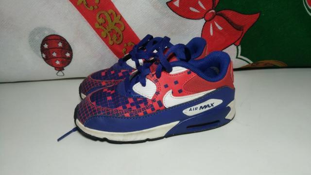 Tênis/sneaker nike air max infantil importado original
