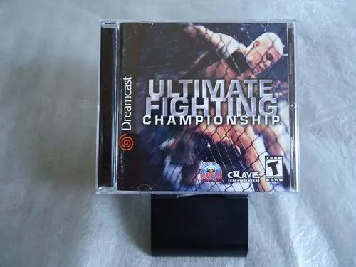 Ultimate fighting championship para dreamcast original