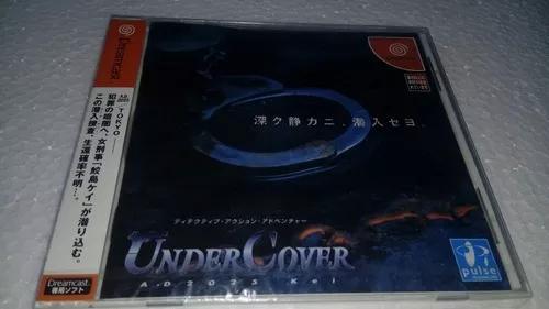 Under cover dreamcast japonês novo lacrado.