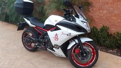 Yamaha xj6 f 600 com difusor no controle - pneus novos