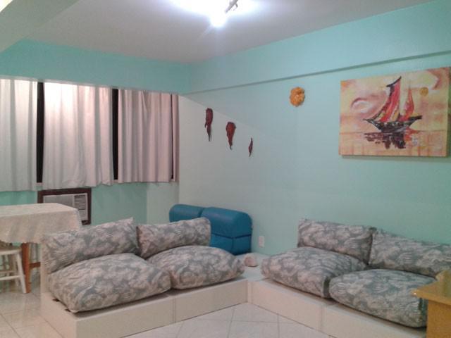 Apartamento de 1 dormitorio mobiliado