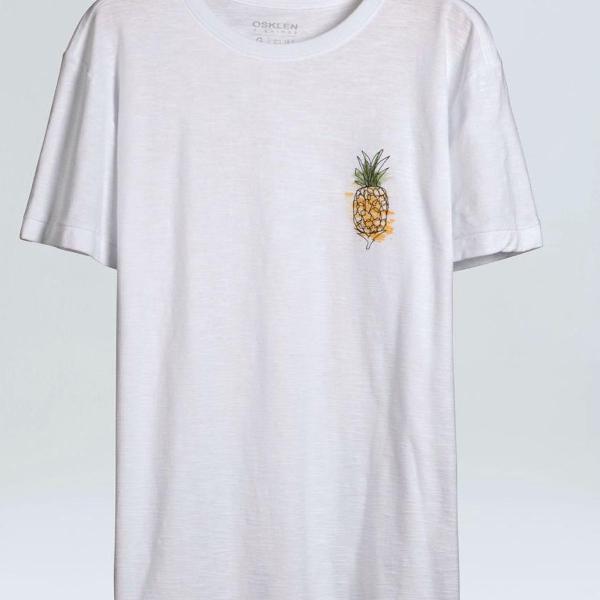 Camiseta osklen abacaxi