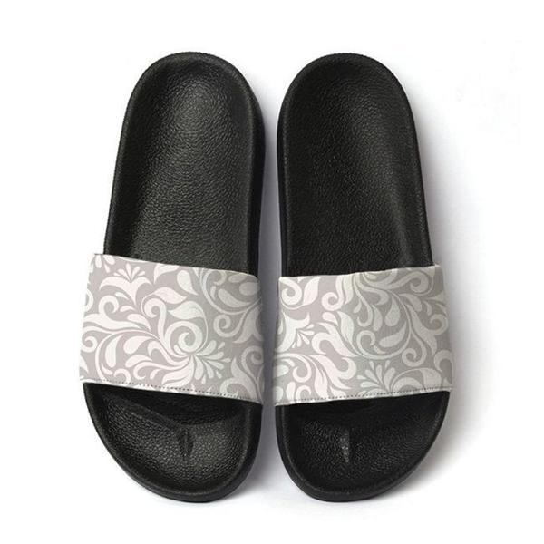 Chinelo slide sandalia masculina estampa floral