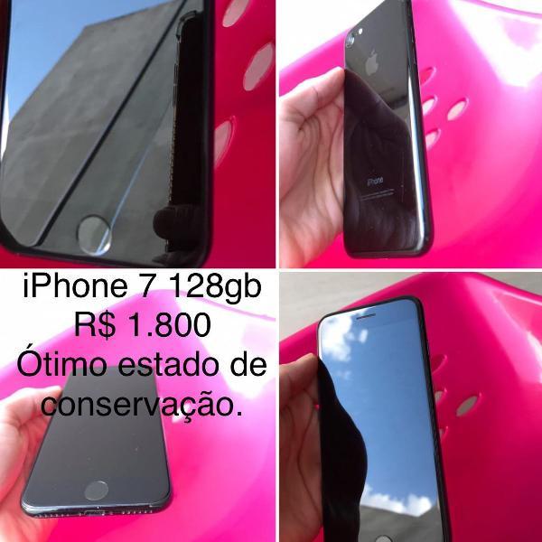 Iphone 7 128gb pouco usado