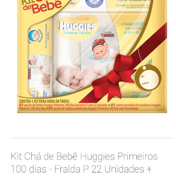 Kit chá de bebê para os primeiros 100 dias