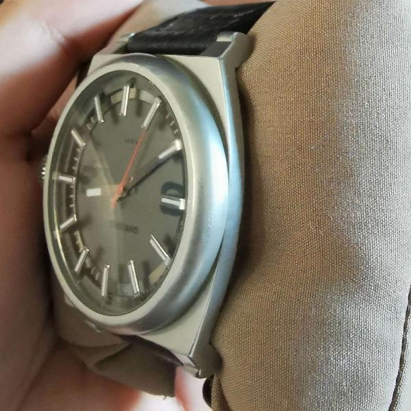 Relógio diesel dz1613 preto com cinza/prata