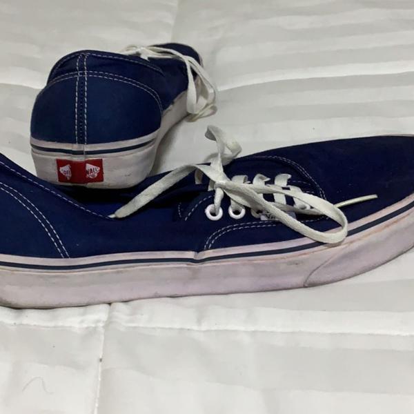 Vans azul 42