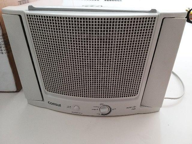 Ar condicionado janela 7500 btu consul frio 110v