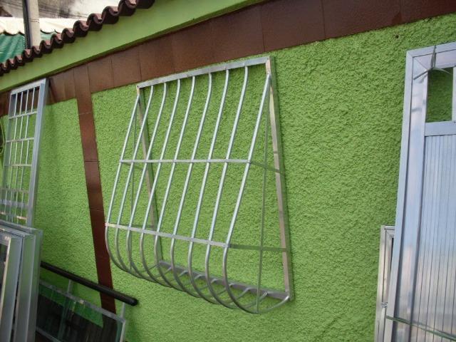 Fabricação de grades de proteção, vários modelos e