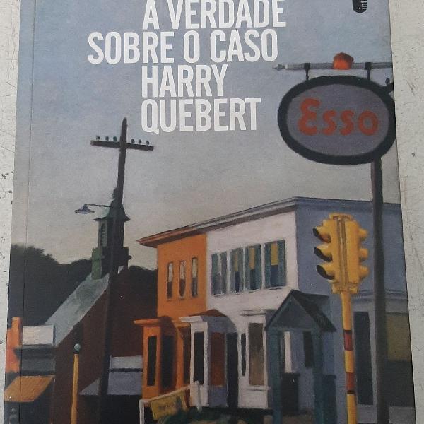 Livro a verdade sobre o caso harry quebert autor joël