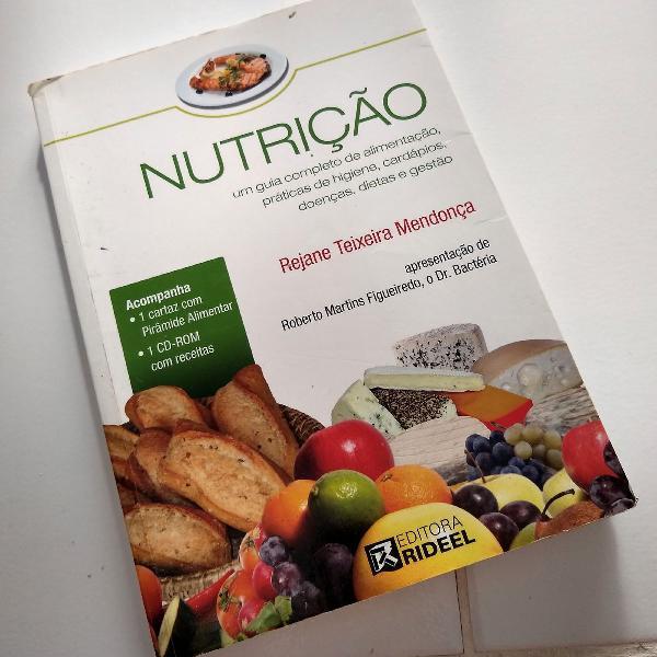 Livro nutrição guia completo de alimentação, práticas