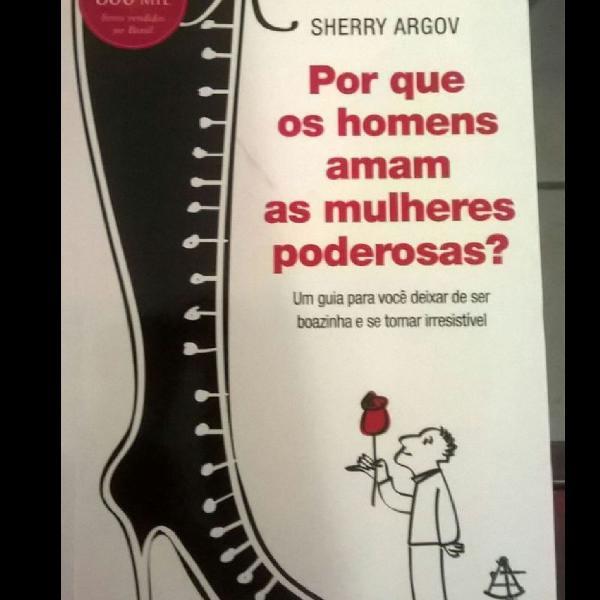 """Livro """"por que os homens amam as mulheres poderosas? """""""