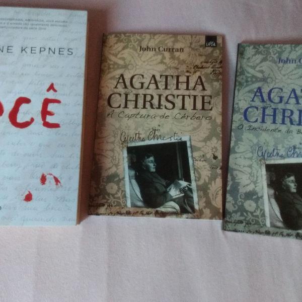 Livros: Você e os Diários da Agatha Christie.