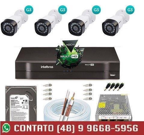 Melhor custo beneficio em implantação de cameras
